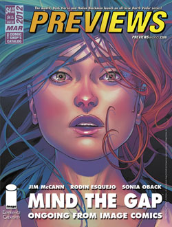 March PREVIEWS Front Cover