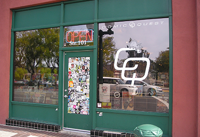Comic Shop Spotlight A Shop Called Quest Redlands Comic Shop Locator