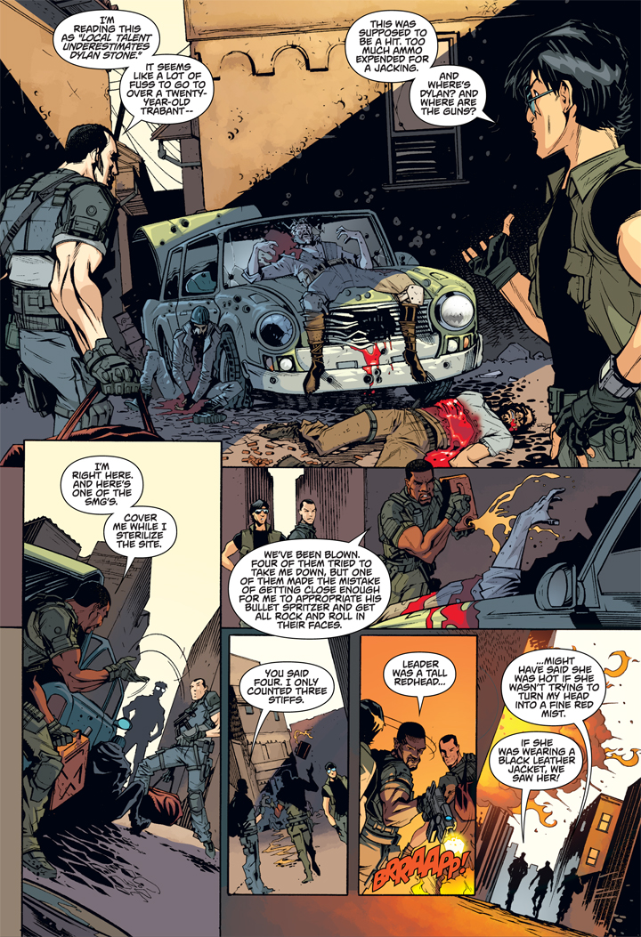 Lock and Load for Larry Hama's Call of Duty - Comic Shop Locator