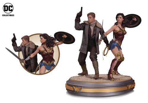 9e26dce1 Wonder Woman Movie — Wonder Woman & Steve Trevor Statue