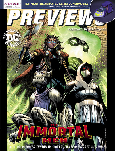 Front Cover -- DC Entertainment's The Immortal Men