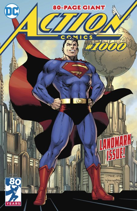 Top Comic 2018 -- DC Entertainment's Action Comics #1000