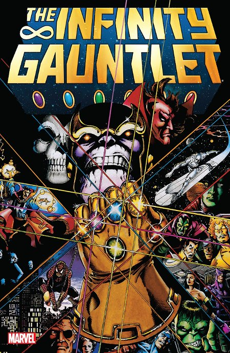Top Graphic Novel 2018 -- Marvel Comics' The Infinity Gauntlet